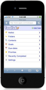Toodledo-on-iphone